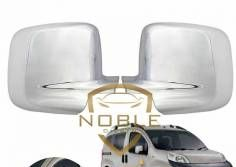 For Fiat Fiorino ABS Mirror Cover Tk 2008 Over Stainless Tunnıng Steel Styling Modified Auto Designed Quality Shaper
