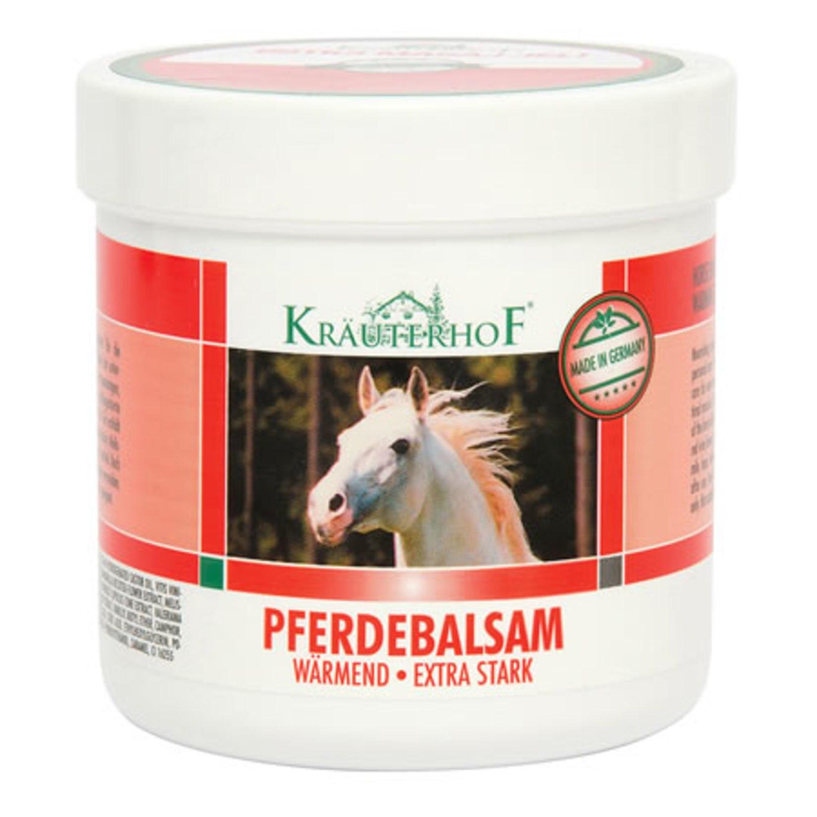 Krauterhof Pferdebalsam Warmend Extra Stark Warming Massage Gel Horse Chestnut Balm 250 Ml