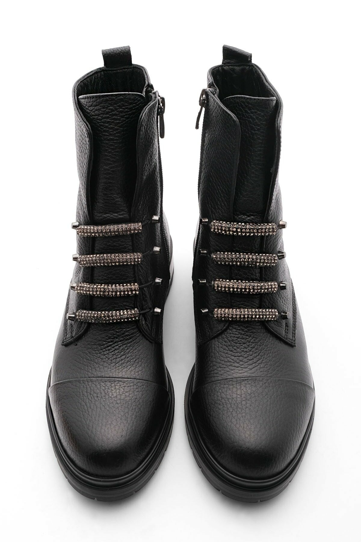 Women's boots Flat Bottom Genuine Leather Women Boots enlarge