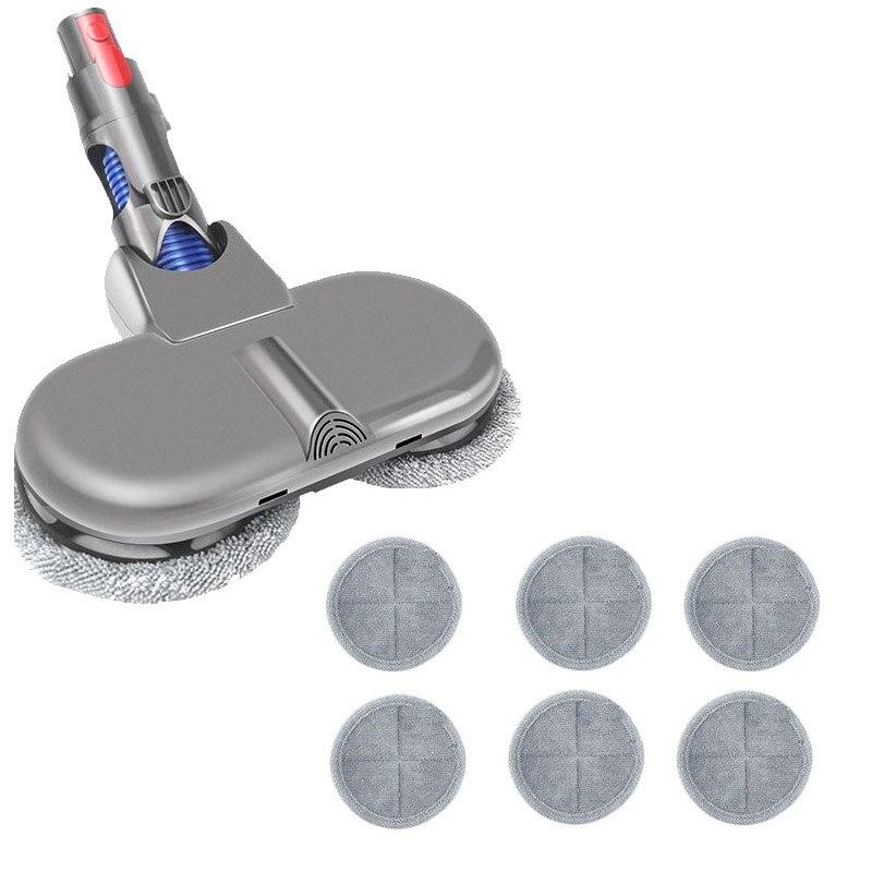 ممسحة كهربائيّة رأس مرفق متوافق ل Dyson V7 V8 V11 V10 لاسلكيّ عصا مكنسة كهربائية مرفق جاف و ممسحة رطبة