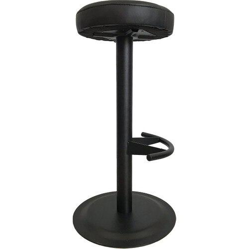 Bar Chair Bar Stool Black Leather Seat amerihome 2 piece bar stool set black