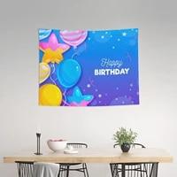 birthday tapestry birthday wall hanging decoration birthday party decor