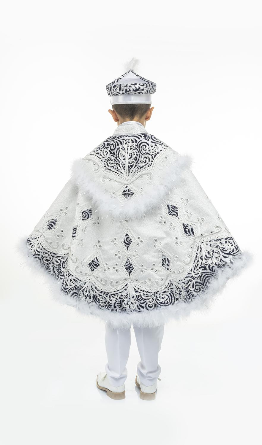 Pasha Prince Cape Sunnet Clothes Kid Circumcision Dress Costume 1-14 Age Birthday and Party Event Child Special Gift Tradition enlarge