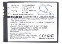 cameron sino 950ma battery for gopro hd hero3 black editionhero 3 1icp72633 2601 00724 00aahdbt 201ahdbt 301ahdbt 302