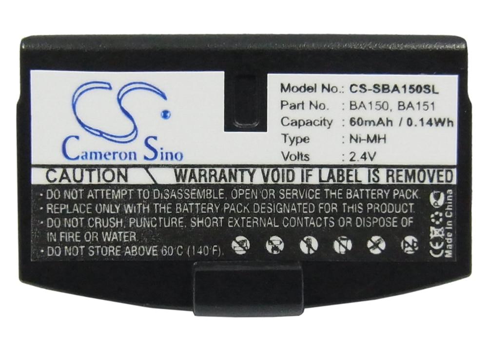 Аккумулятор Cameron Sino 60mA для Sennheiser RS 60,RS 65,RS 8,RS 80,RS 85,RS-2400,RS-30,RS-4 BA150,BA151,BA152,WEST-BA151