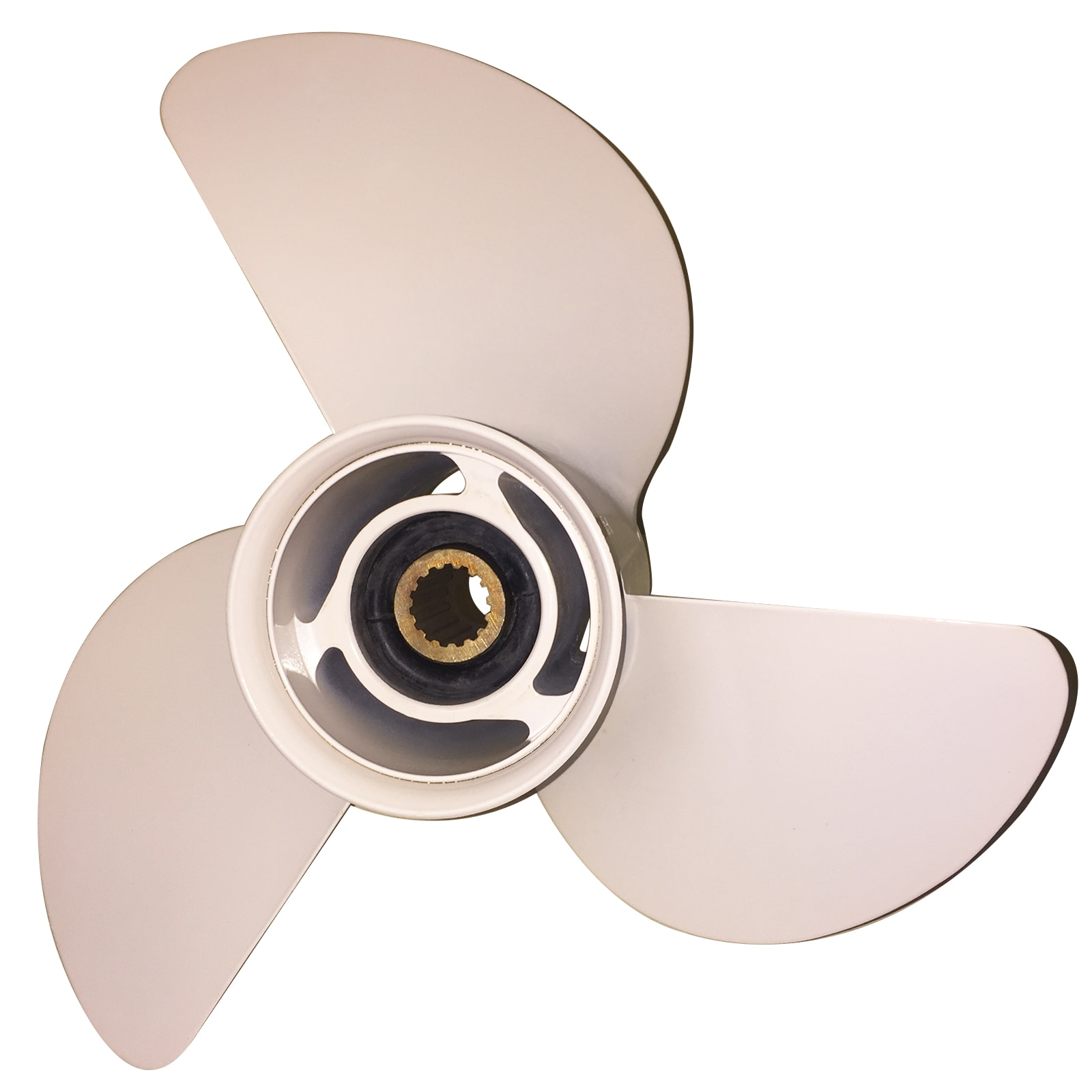 Boat Propeller 13 1/2x14 for Yamaha 60HP-115HP 3 Blades Aluminum Prop 15 Tooth RH OEM NO: 388-45932-60-98 13.5x14 enlarge