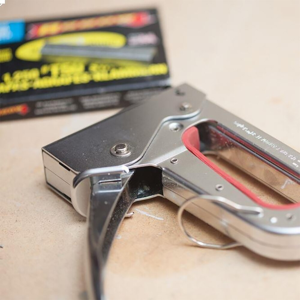 Arrow JT27 6-10mm Mechanical Stapler Gun + 1000 Pcs Staples