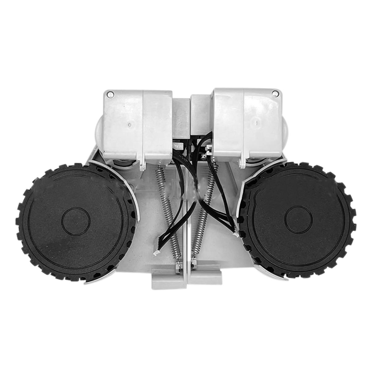 عجلة القيادة استبدال أجزاء ل شاومي Lydsto R1 روبوت مكنسة كهربائية اكسسوارات اليسار واليمين عجلة