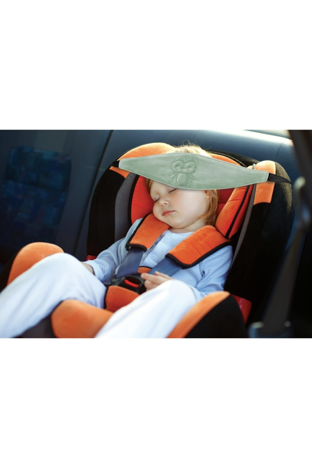 Автомобильное сиденье, поддержка головы, Серый Детский дорожный держатель головы, мягкое удобное детское автомобильное сиденье, поддержка ...
