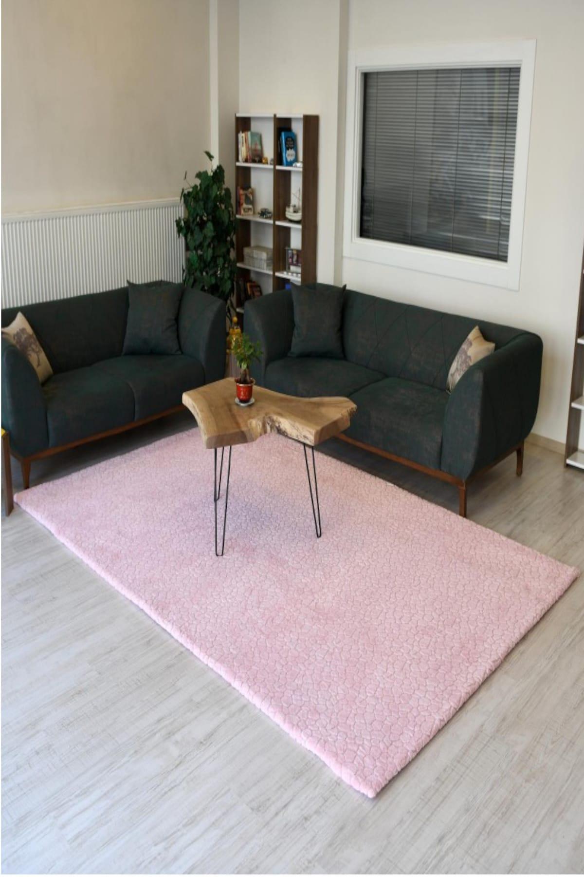 غطاء ديكور المنزل للسجاد السجاد غطاء السجاد النسيج الوردي