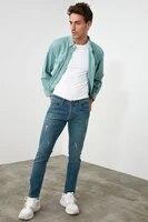 trendyol male skinny harrow destroylu jeans tmnss20je0304