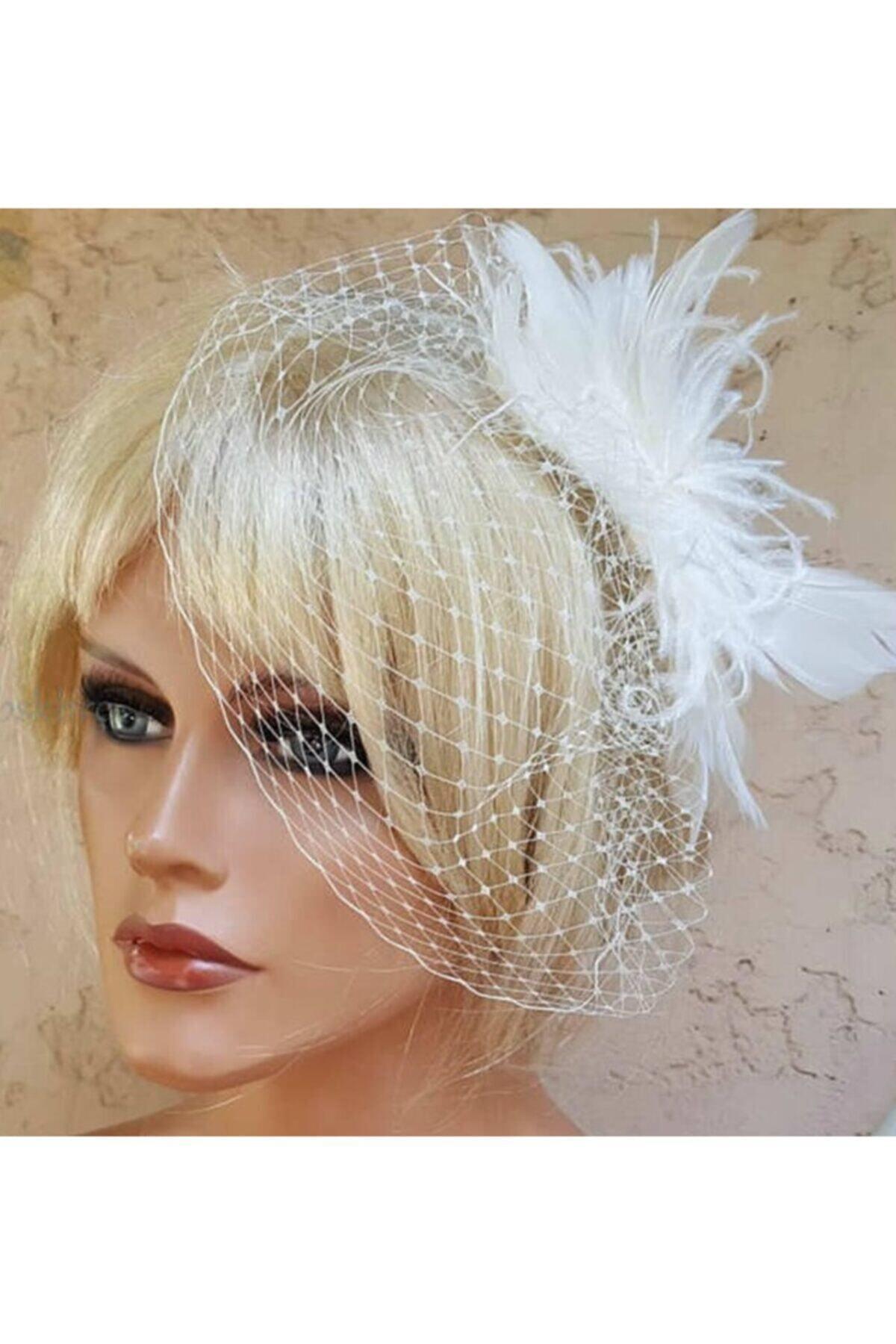 الريش الزفاف Vualet الزفاف قبعة الزفاف Kepi تصميم مخصص رخيصة عالية الجودة اكسسوارات الزفاف أنيقة تصميم عصري