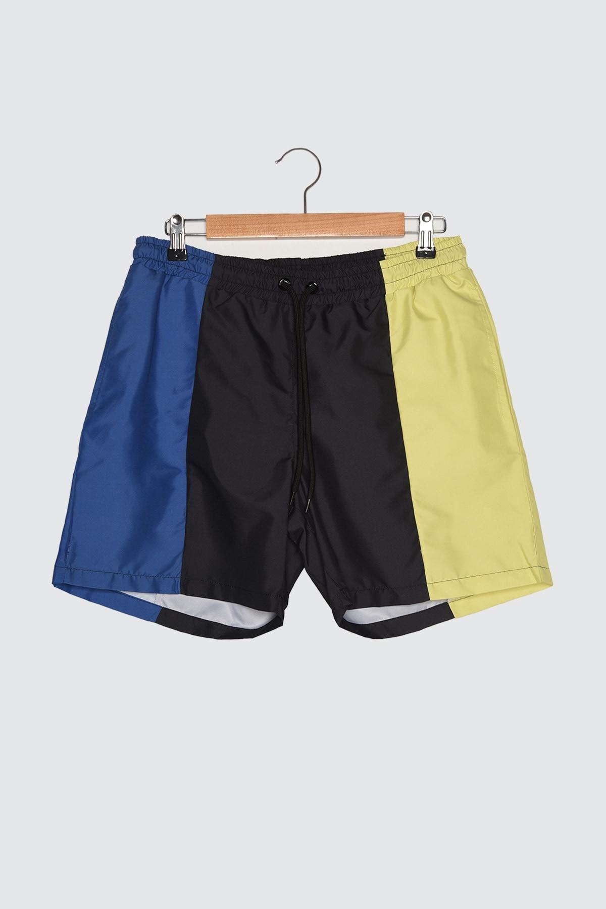 Trendyol Male Color Block Sea Shorts TMNSS21DS0006