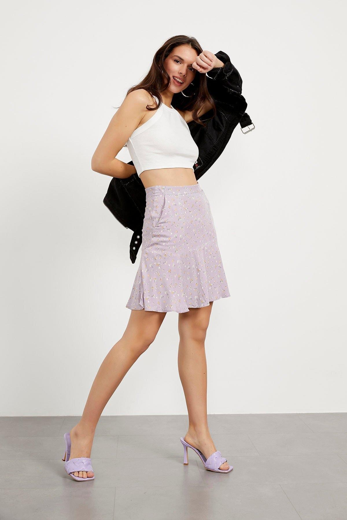 Flywheel Women Mini Skirts Women Skirt Fashion Casual Sport