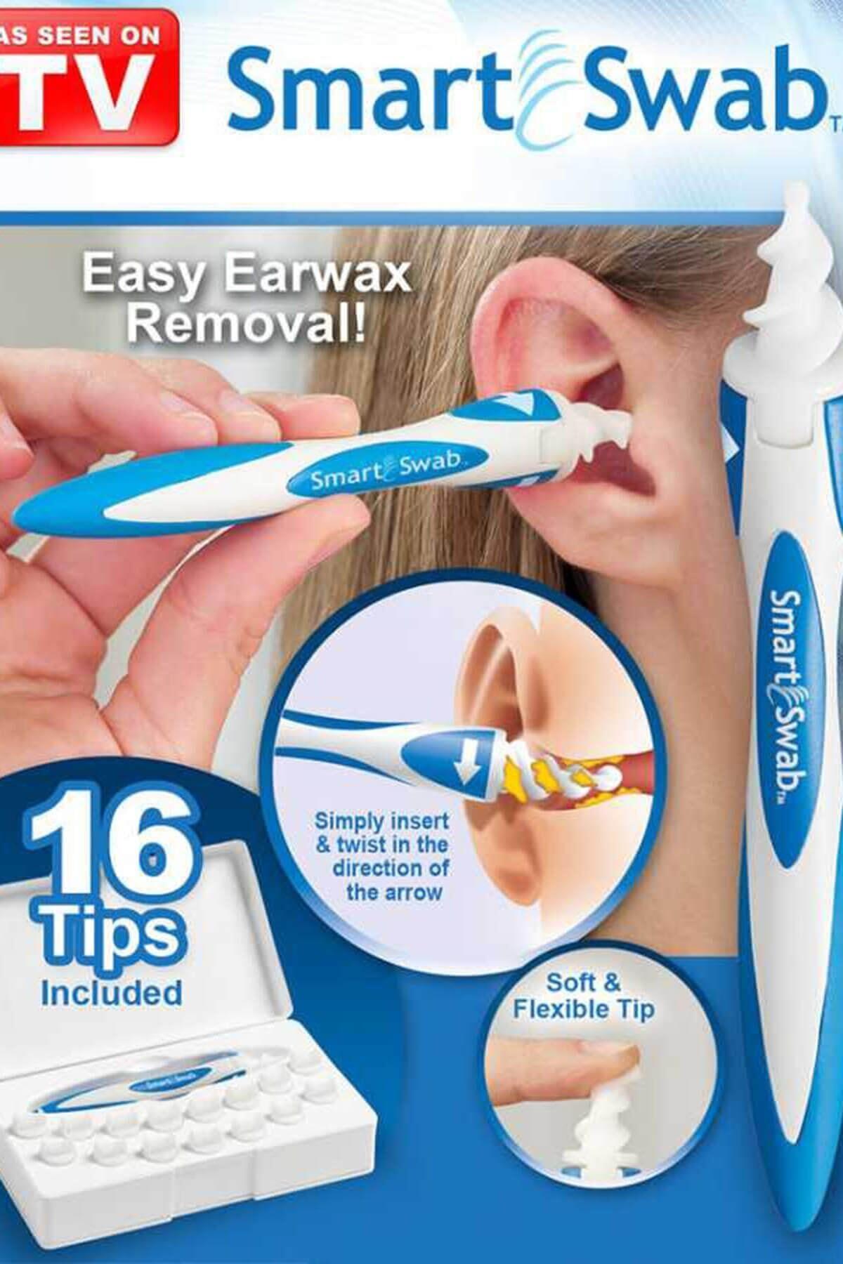 Практичный набор для чистки ушей, носа, горла, ушей, ушей, устройства для чистки ушей