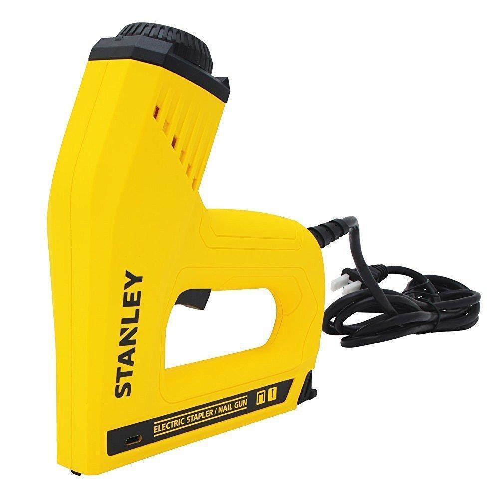 Stanley ST6TRE550 Nails Gun 80W Ergonomic Design Comfortable Safe Use Office School Supplies