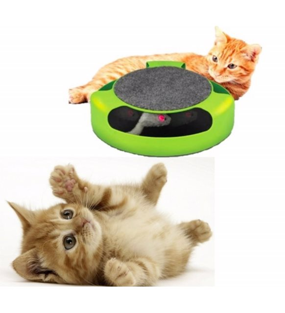 2021 New Fashion Cat Toy-Moving Mouse Chaser-Cat Accessories - Fun Time Toy Chaser-Happy Free Shipping