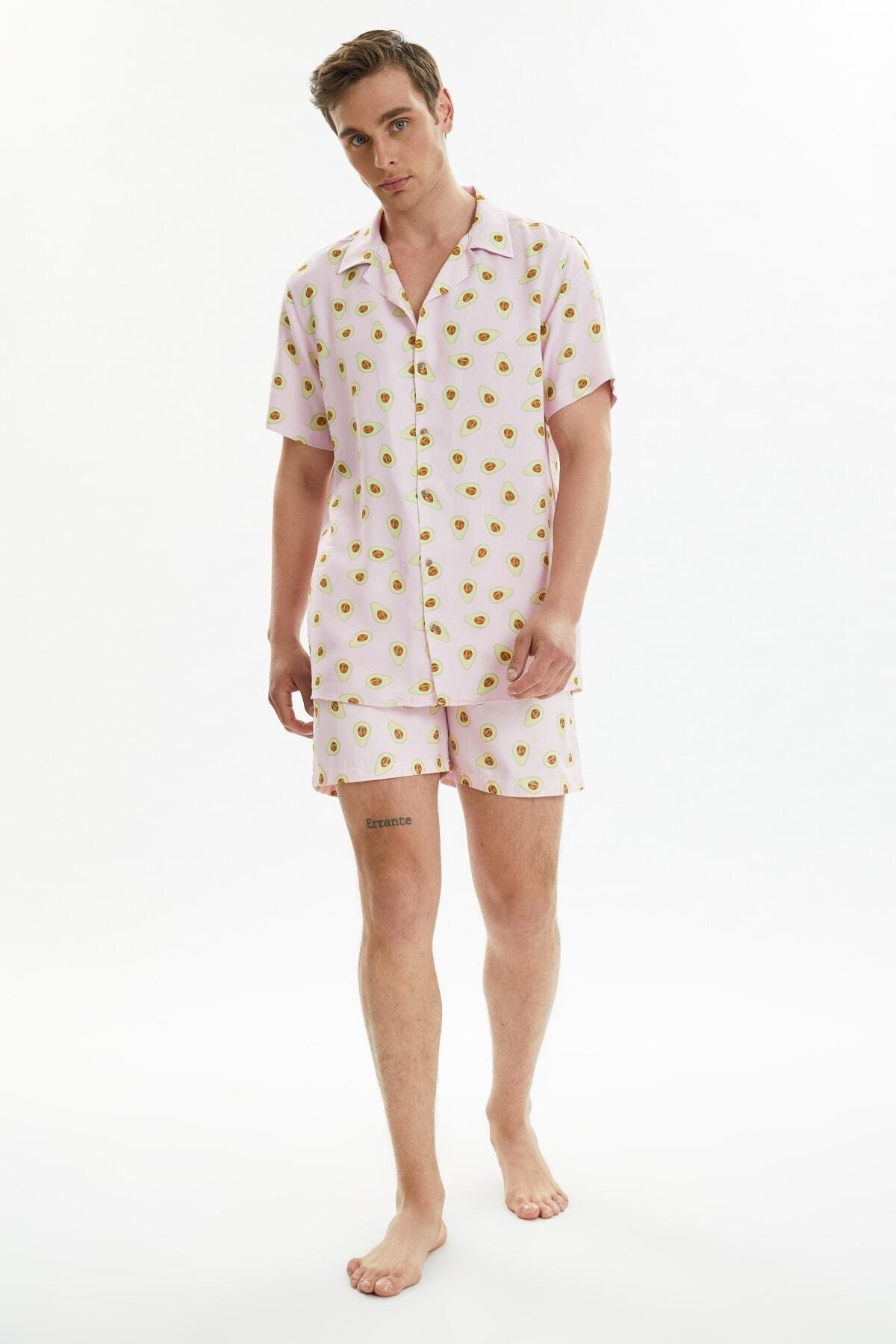 Trendyol Male Printed Sea Shorts TMNSS21DS0047