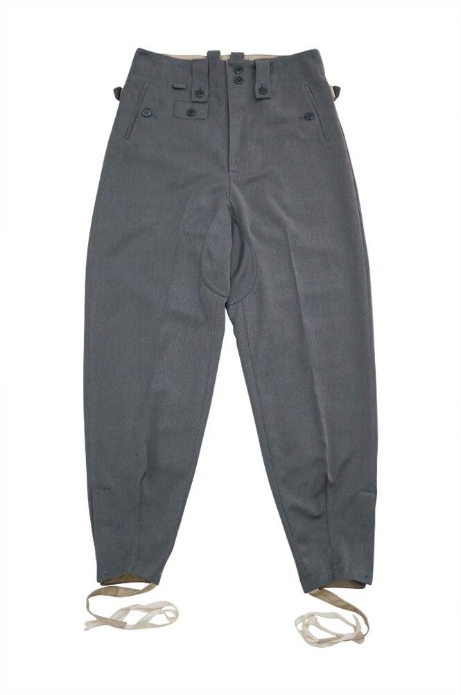 GUDD-009 WWII German Elite M43 Stone Grey Gabardine trousers keilhosen