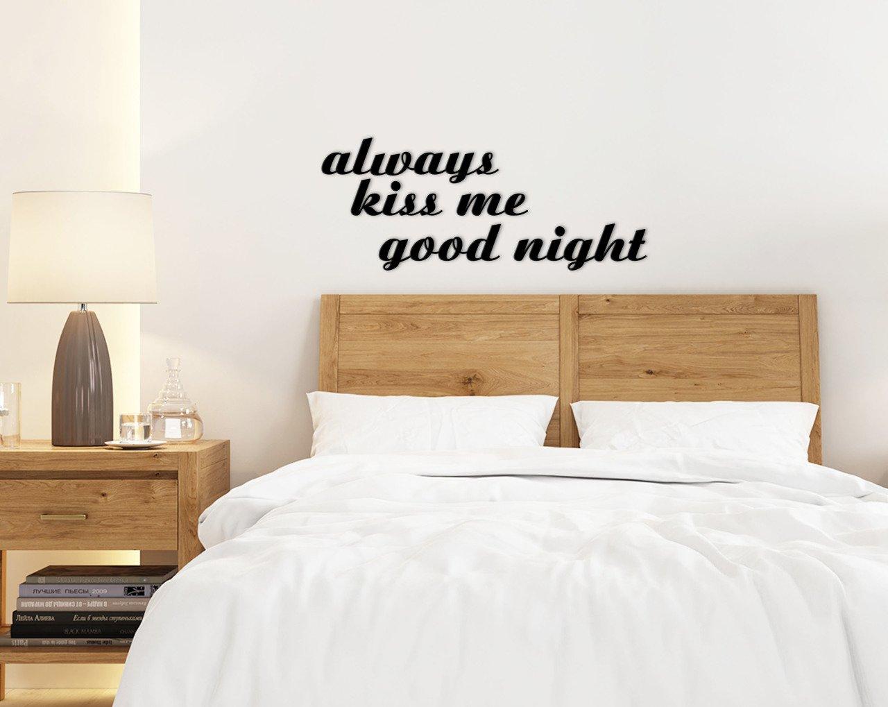 BK Home دائما تقبلني ليلة سعيدة الجدار Yazısı-1