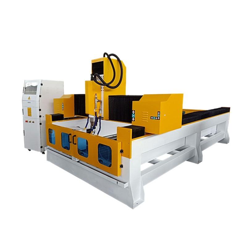 Jinan igolden cnc máquina de procesamiento de piedra/ENRUTADOR cnc de piedra con arenado