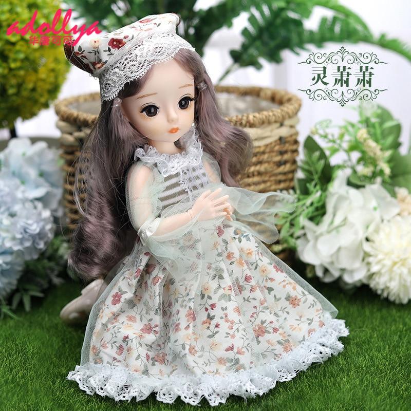 Подарок Adollya 1/6 BJD кукольная одежда 20 см одежда платье принцессы вечерние платья игрушки для детей кукольные аксессуары