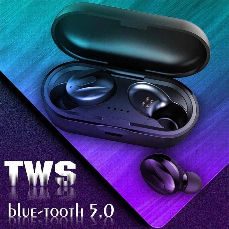 Bluetooth 5.0 Earphones TWS Wireless Headphones Earhook Earbuds Waterproof Mini Headsets Stereo Spor