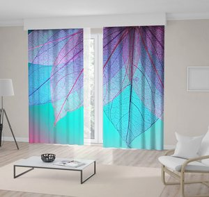 Curtain Explosion of Paint Color Powder Dust on Purple Creative Colorful Blue Aqua and Violet