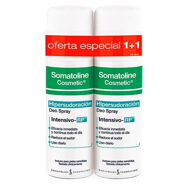 Desodorante en aerosol somatolina (2 uds)