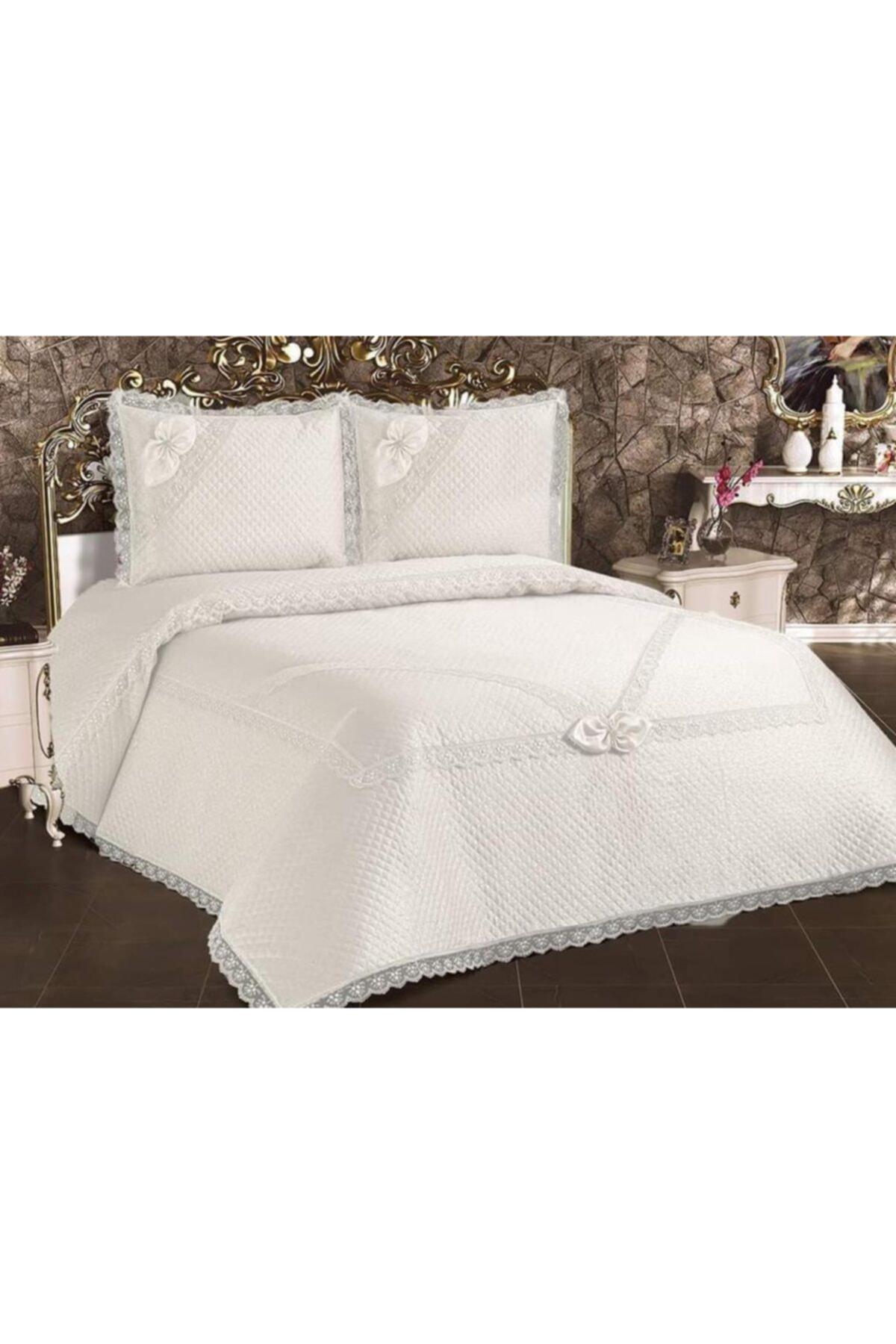 جيبور-طقم سرير مزدوج برباط ، غطاء وسادة فرنسي ، ملاءة سرير ، بطانة سرير ، جيسيرك