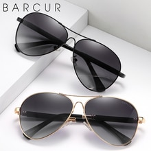 BARCUR Original Men Sunglasses Polarized Anti Blue Light Protect Men's Sun Glasses Women Pilot UV400