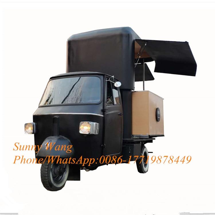 Nuevo Producto, furgoneta eléctrica Trialer para comida de carro, triciclo tuk, camión de comida