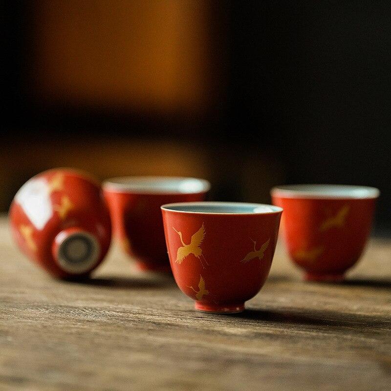 ¡1 Uds.! Juego de tazas de té, juego de té, juego de tazas de té, juego de tazas de té de cerámica blanca, tazas de té de kung fu de porcelana china