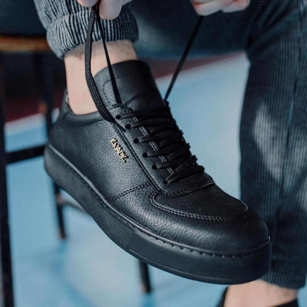 Knack Casual Shoes Black (Black Sole) Colorful High Sole Lace-Up Artificial Leather Summer Spring Season Fashion Flashy Formal Classic Wedding Use Sneakers Man Shoes High Quality Free Shipping Shoes Luxury Sneakers 666