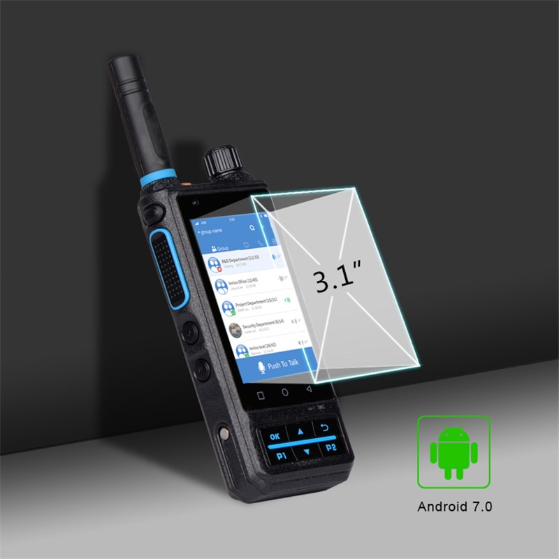 Inrico S200 ZELLO Network walkie talkie GPS PTT phones android police walkie talkie LTE/WCDMA/GSM walkie-talkie