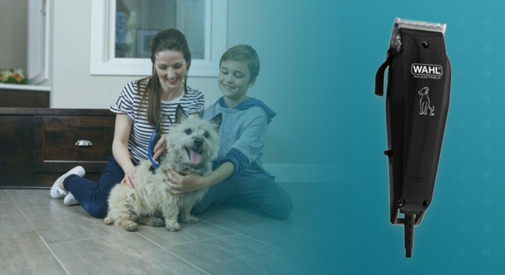 Wahl Basic Pet, Dog Hair Clipper Kit, Animal Grooming Kit, Animal Hair Cutting Machine Kit, Shaver enlarge