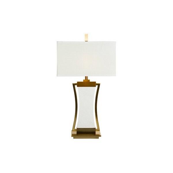 Lámpara de Mesa Marble Silhouette (43 x 76 X 43 cm)