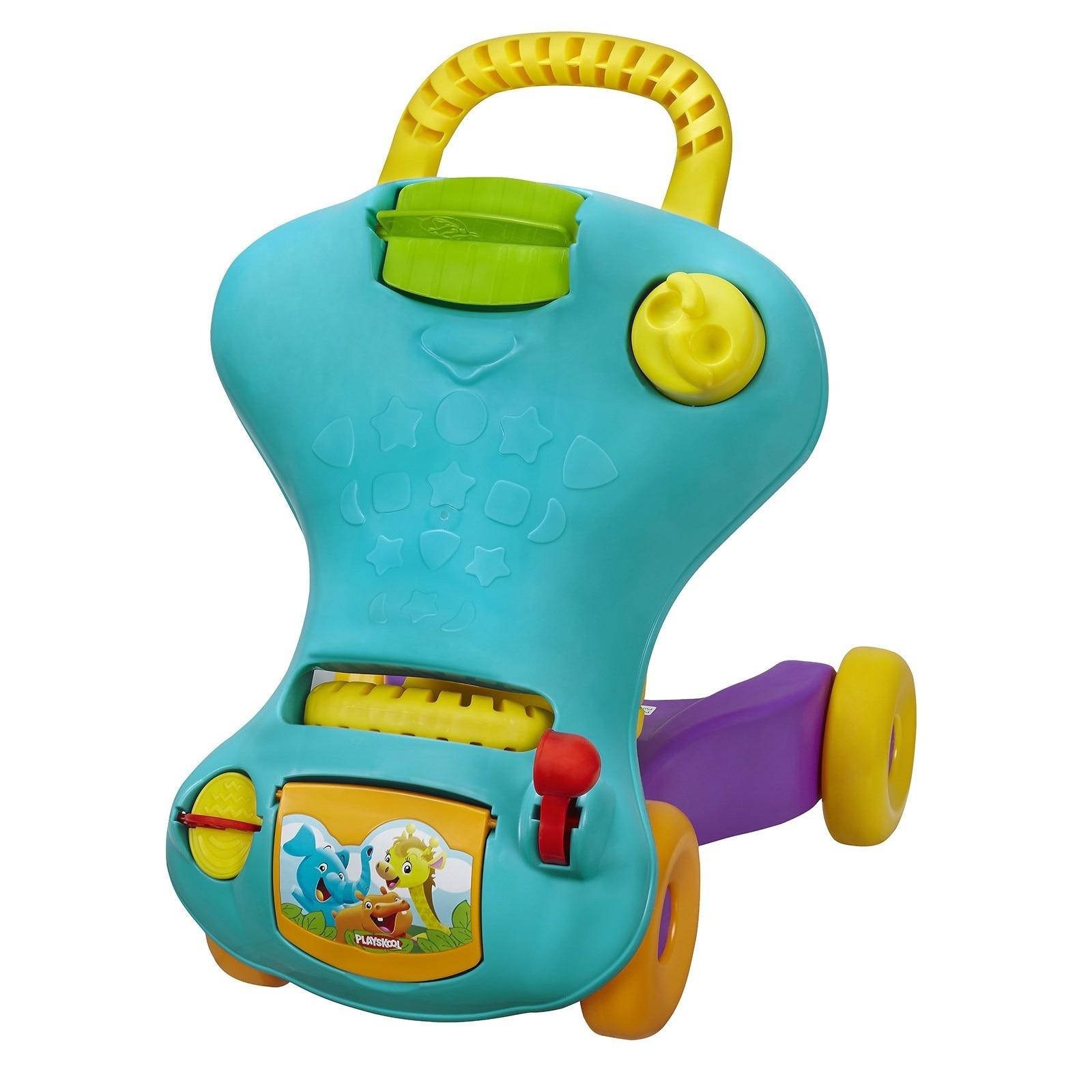 Ebebek Playskool mój pierwszy samochód Talakar Walker dla chodzik dla dzieci Musical wózek spacerowy chodzik dla dzieci z kołem