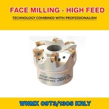 TK WNMX 13 012 KRLY FACE fraiseuse-alimentation élevée BMR 80X5 027 WNMX 130520