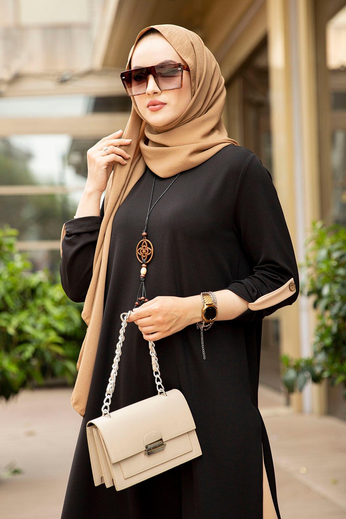 مجموعة ملابس إسلامية من 3 قطع من ماغنوليا إسلامية تركية ملابس إسلامية استانبولستايل دبي اسطنبول 2021