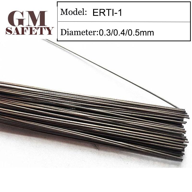 200PCS/Tube GM Laser Welding Wire ERTI-1 For Titanium Welding Material Rod Mold Laser Welding Filler NiCrMo-3