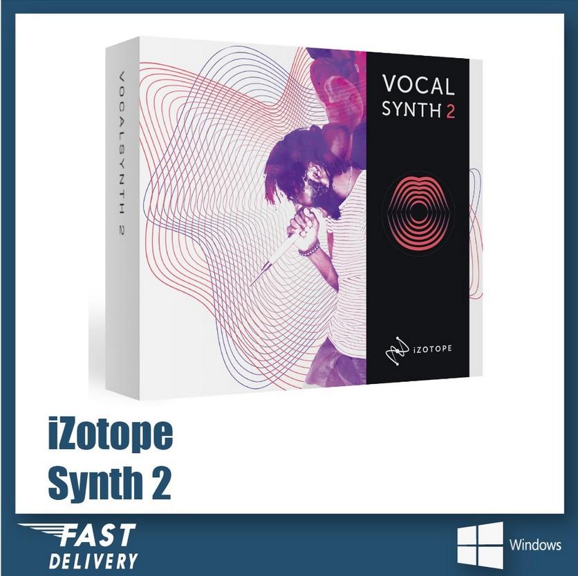 IZOTOPE VOCALSYNTH 2 (WINDOWS 64BIT VST PLUGINS)