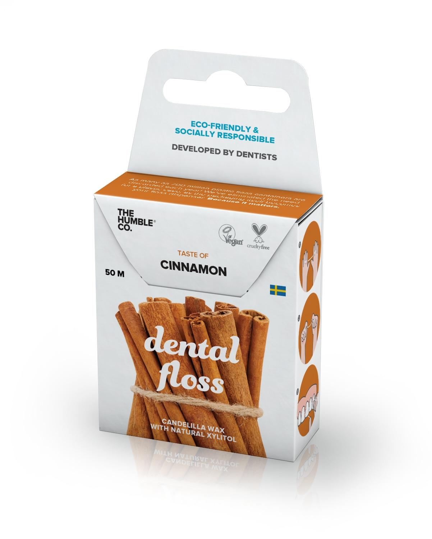 Humble Dental Floss - Cinnamon 50 M Vegan Eco-friendly