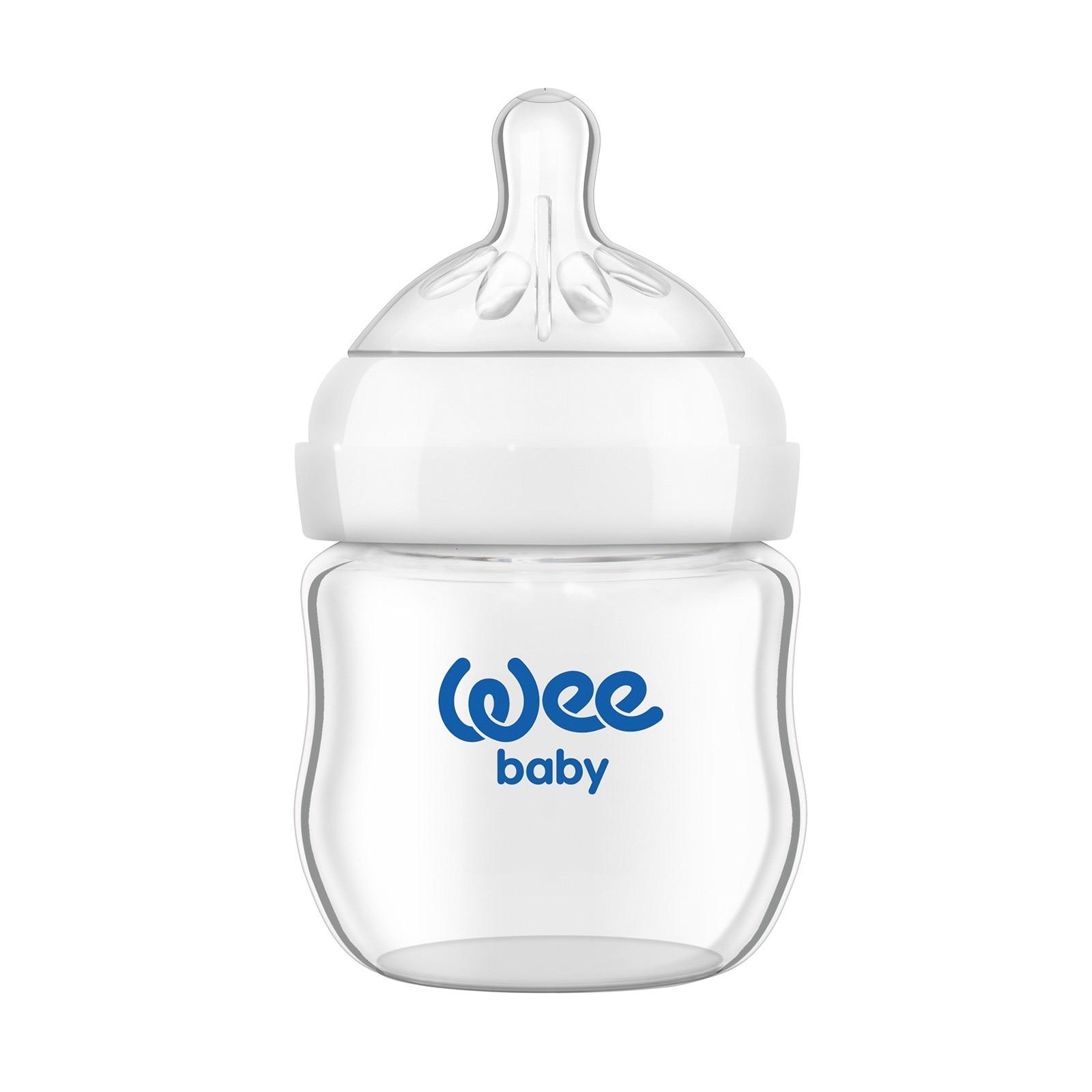 Bebebek Wee Baby botella de vidrio natural 144 125 ml