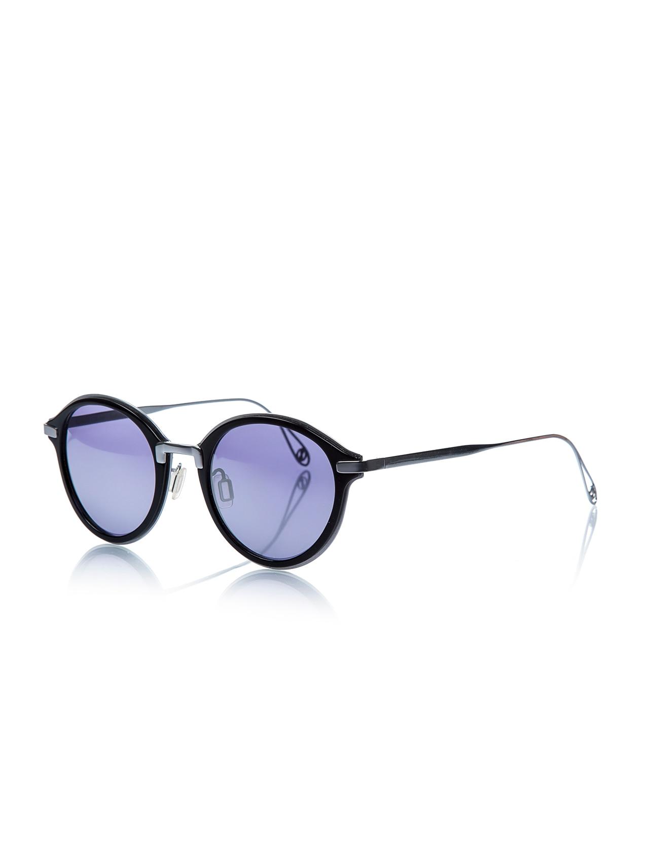 Gafas de sol para mujer msd 3002 b metal negro orgánico redondo 48-23-140 massada