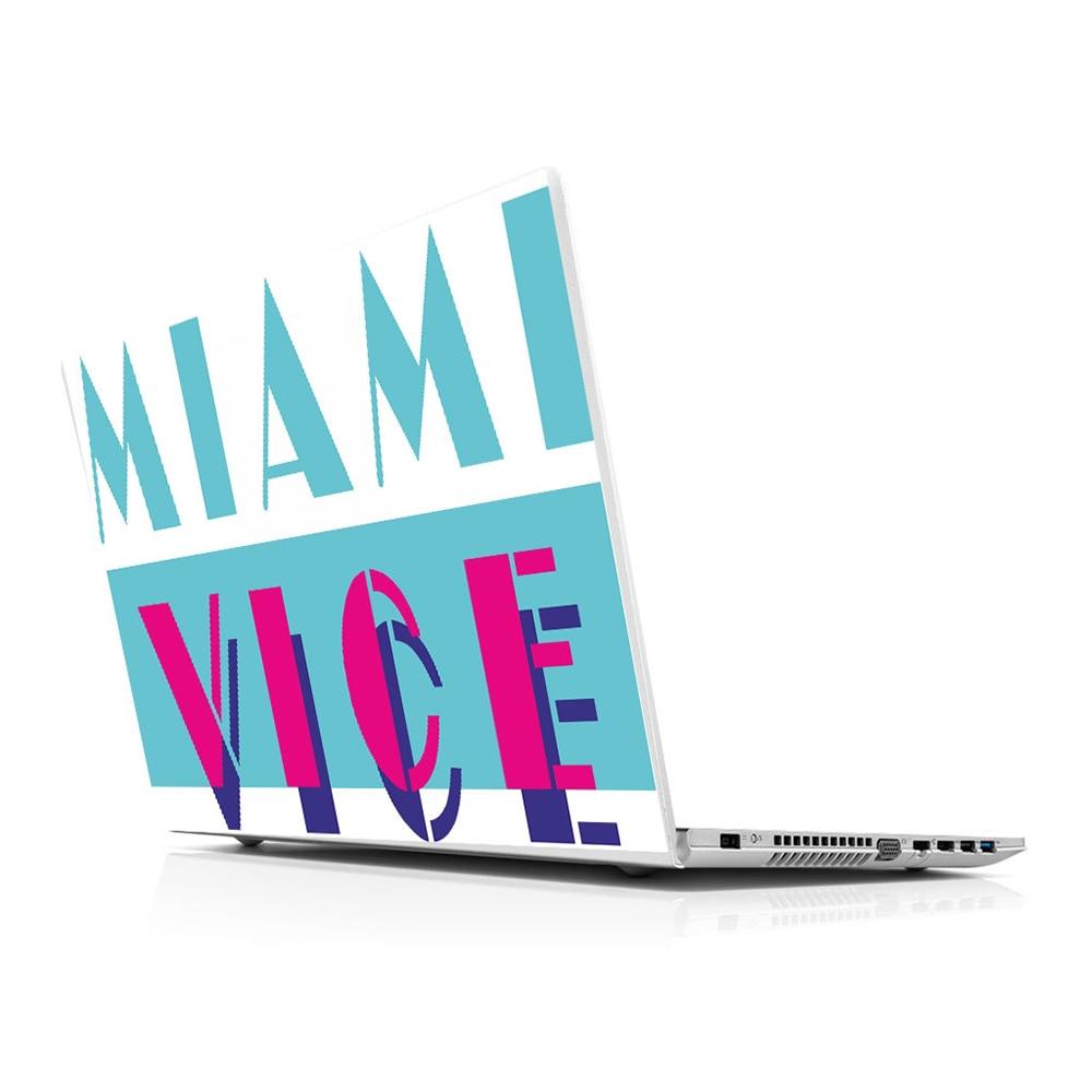 "Pegatina Master Miami, adhesivo Universal para ordenador portátil, pegatina de piel para 10 12 13 14 15,4 15,6 16 17 19 ""Inc, pegatina para portátil para Macbook,asus,Acer,Hp,Lenovo,Huawei,Dell, msi Apple, Compaq Toshiba"