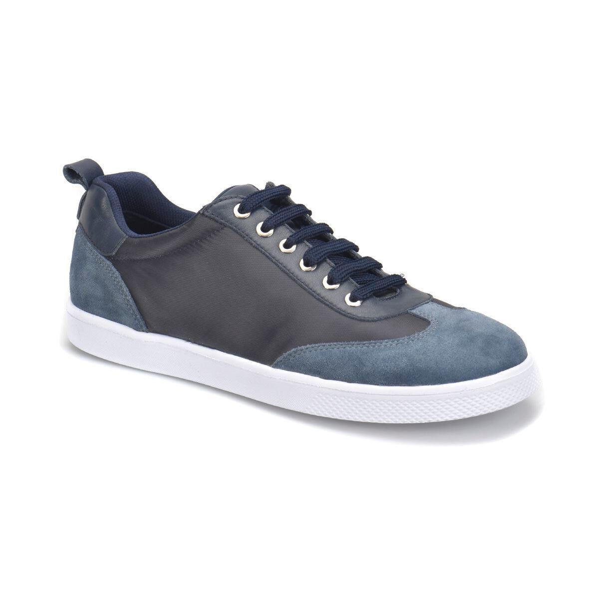 FLO azul marino hombres Casual zapatos primavera otoño Casual zapatos planos con cordones arriba bajo Zapatillas Hombre tenis masculino adulto zapatos Panama Club PR-300