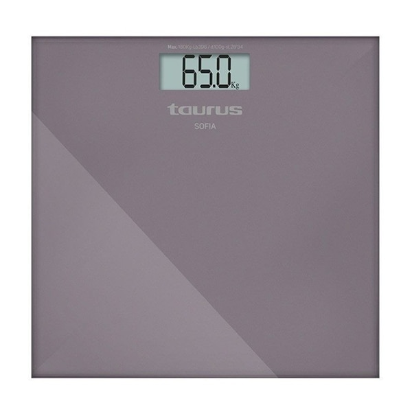 Digital Bathroom Scales Taurus Sofia 180 Kg LCD