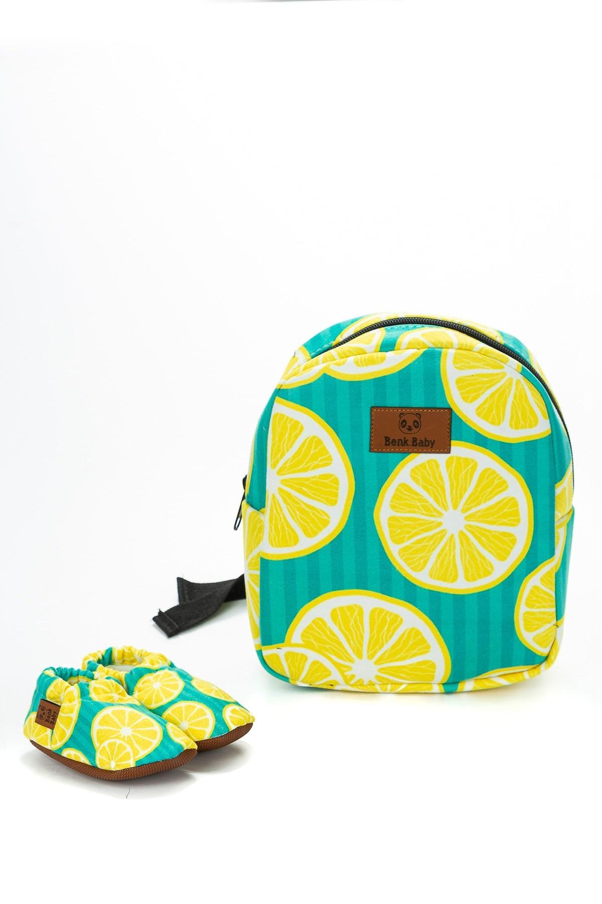 Flaneur Baby Lemon Model Non-Slip Baby Booties And Bag Set 2021 Premium Quality