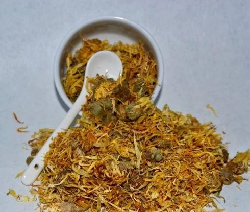 קלנדולה פרח-ציפורן חתול-טבעי מיובש תה עשב 50 gr-400 gr משלוח חינם